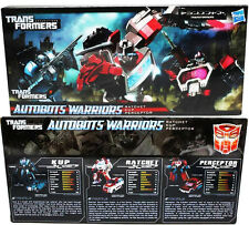 Transformers Henkei Autobots Warriors Ratchet Kup Perceptor 3 In 1 Pack