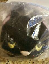 """Harvest Moon DS cute black cat plush 6"""" kitten lovey new still in bag"""