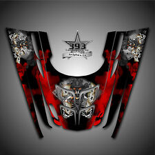 GRAPHICS DECAL WRAP POLARIS GEN II 2, 1999 2000 2001 2002 2003 OUTLAW Red