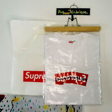 Unworn supreme x comme des garcons Crimple Bogo/box Logo With Bag And Stickers