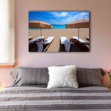 60×90×3cm Sunny Beach Holiday Canvas Prints Framed Wall Art Home Decor Painting