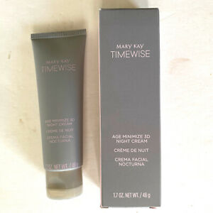 Mary Kay Timewise Age Minimize 3D Night Cream Combination To Dry Skin 1.7 Oz NEW