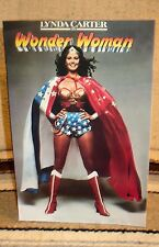 """Wonder Woman """"Lynda Carter"""" Color Movie Poster Tabletop Display Standee 10.5"""""""