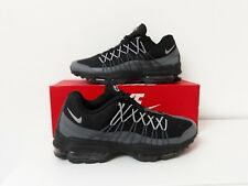 Nike Air Max 95 Ultra Essential Black/Grey Men's Trainers Size Uk 6
