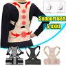Posture Corrector Adjustable Pink Shoulder Belt Support Back Body Brace  *