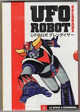 dvd GOLDRAKE UFO ROBOT numero 16 LA BOMBA A OROLOGERIA