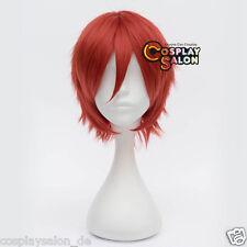 Manga Akashi Seijuro Cheveux Cosplay Wig Courte Rouge 30 cm perruque Anime wig Halloween