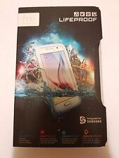 New OEM LifeProof Fre SeriesSamsung Galaxy S6 White Waterproof Cover Case