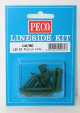 Peco OO 1:76 LK-25 Pack of 12 Green Platform bench seats New FNQHobbys