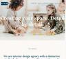 Interior Design Website Design | Responsive Website | Web Design Just £10/Month
