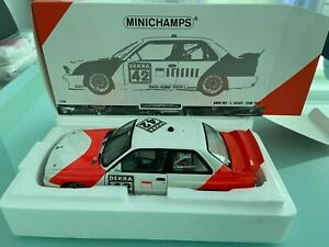 BMW M3 Euser DTM 1991 + Decals limited 1000 Piecs   in 1:18
