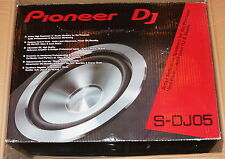 "PIONEER ELECTRONICS S-DJ05 5"" ACTIVE REFERENCE SPEAKERS FOR DJ PRODUCER NEW!"