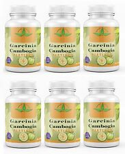 6X Garcinia Cambogia 100% Pure 95% HCA Weight Loss Diet Pills Fat Burner 3000mg