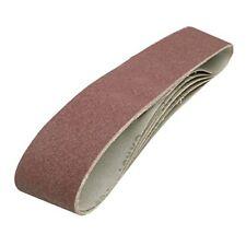 Silverline Bandes abrasives 100x915 mm Paquet de 5 Grain 80 DIY