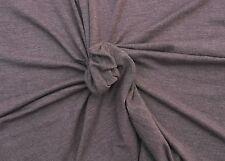 "Modal Spandex 4 Way Fabric Jersey Knit - Heather Mauve By the Yard 59""W #11 2/16"