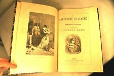 GAUTIER. CAPITAINE FRACASSE. GUSTAVE DORE. LIBR. ILLUSTREE COMPLET FRONTISPICE.