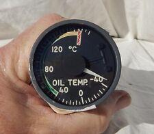 American Airlines 727 Engine Oil Temperature Indicator Gauge Instrument