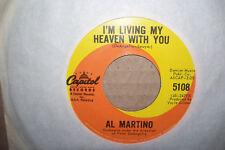 AL MARTINO,  I'M LIVING MY HEAVEN WITH YOU,  CAPITOL RECORDS USA 1964  EX