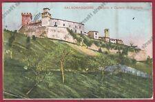 PARMA SALSOMAGGIORE TERME 233 CASTELLO di VIGOLENO Cartolina viaggiata 1908