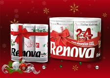 Renova Gift Set Xmas Pack of 9  Toilet Rolls  & Pack of 2 XXL Kitchen Rolls