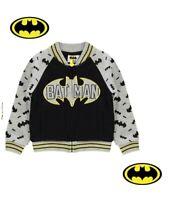***PROMOTION***Veste zippée basket garçon Batman officiel Marvel du 2 au 12 ans