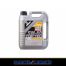 Nuevo 1x liqui Moly top tec 4100 5 w-40 coche, automóvil aceite del motor 5 litros de 3701 (€ 10,55/L)