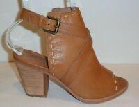Frye Size 7.5 M DANI PICKSTITCH SHIELD Whiskey Leather Sandals New Womens Shoes