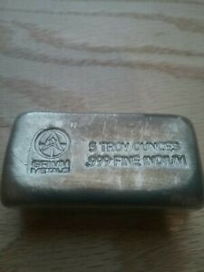 5oz Indium Bar Handpoured