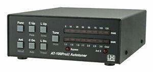 LDG AT-100ProII 100W Ham Radio CB  HF Automatic Antenna Tuner