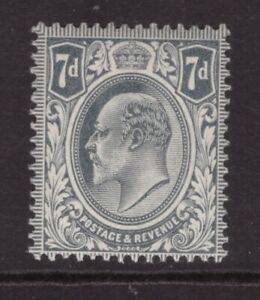King Edward VII 7d  MINT NEVER HINGED MNH