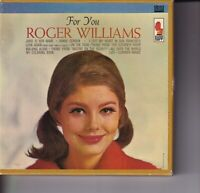 "Roger Williams ""For You"" Pre-recorded Reel to Reel Tape"