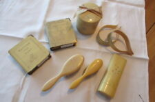 Vintage Celluloid Items for Nursery - Baby Banks, Brushes, Blanket Holders