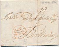 Lettre Edimbourg Ecosse 1803 Cover Scotland