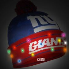 e1fe84018f4 New York Giants NFL Big Logo Camoflage 2017 Light Up Beanie