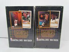 1 SEALED box of 1990-91 Skybox Basketball wax box Jordan Kemp Robinson Payton