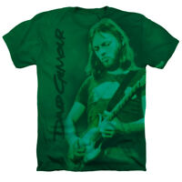 David Gilmour Pink Floyd Officially Licensed Kelly Green Heather Adult T-Shirt