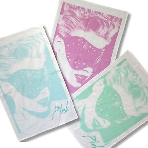 Pink P!NK 3 Piece Gift Set: Three Tea Towels New Official Band Music Truth Love
