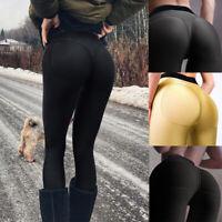 Women Sexy Push Up High Waist Yoga Leggings Butt Lift Pants Gym Running Trousers