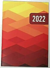 2022 Planner Geometric Monthly Format 9 12 X 6 38 Lay Flat Spine Organizer