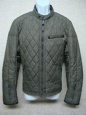 POLO RALPH LAUREN - Men's Motorcycle Cafe Racer Jacket - Speed Gray - Size M (S)