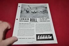 Lorain Moto Crane Easy To Move On Oilfield Locations Dealer's Brochure RPMD
