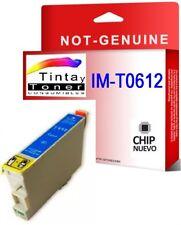Tinta NON OEM COMPATIBLE Cian para EPSON STYLUS T0612 D68 DX4800 DX4850 D88