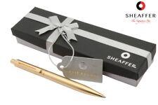 Sheaffer Sentinel Brushed Gold Mechanical Pencil 22K Gold Trim 0.7mm MADE IN USA