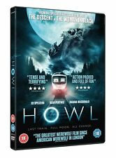 Howl [DVD] [2015] Ed Speleers, Paul Hyett New Sealed
