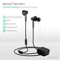 BlitzWolf BW-ANC1 Active Noise Cancelling bluetooth Earphone AptX HiFi Headphone