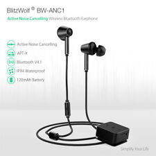 BlitzWolf BW-ANC1 Active Noise Cancelling Bluetooth Earphone AptX HiFi Headphone