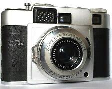 CAMERA > FRANKA - SUPER FRANKANETTE - 35 mm - CASED - 2.8 / 45 mm Prontor Lens