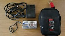 Olympus Stylus 750 Digital Camera 7.1 Megapixel Silver Battery SD Card TESTED