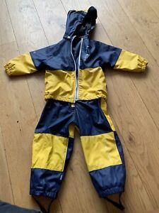Kozi Kidz Padded Raincoat And Trousers Size 90
