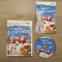 We Wish You a Merry Christmas (Nintendo Wii, 2009) Complete - Tested & Working!!